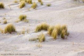 weiße Düne Bretagne