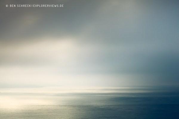Nebel Meer Licht