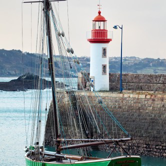 Segelboot Erquy