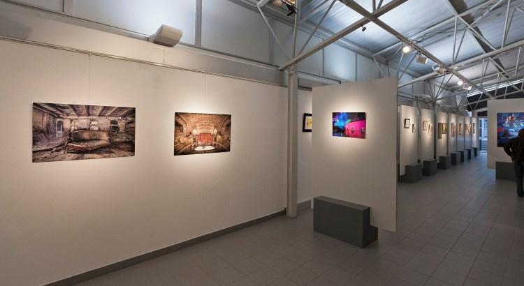 Ausstellung Guerande Wandfotos