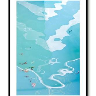 Boat Mirror Blue 1535