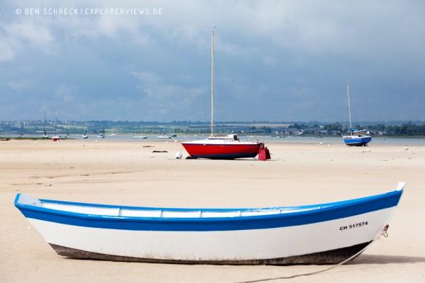Boote in der Sandbucht 1963