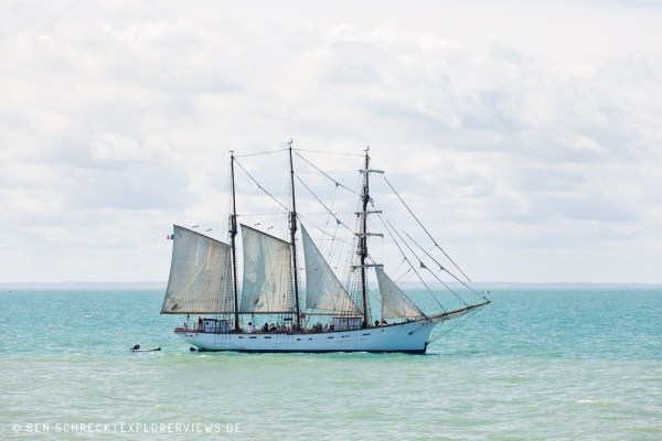 Segelschiff Marite Granville Meer 4523