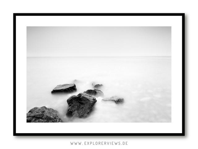 Stones in milky water 4279