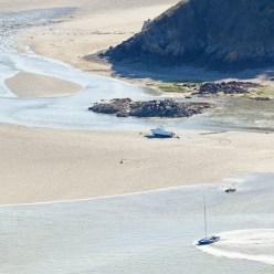 Boote bei Flut Bretagne 5577