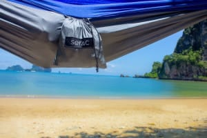 serac ultralight hammock with stuff sack