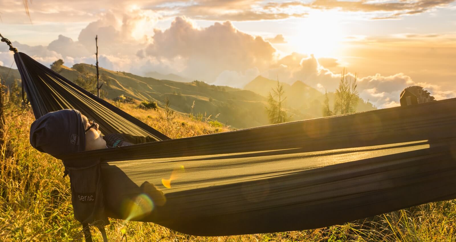 Medium image of serac hammock u0027s hammock camping tips