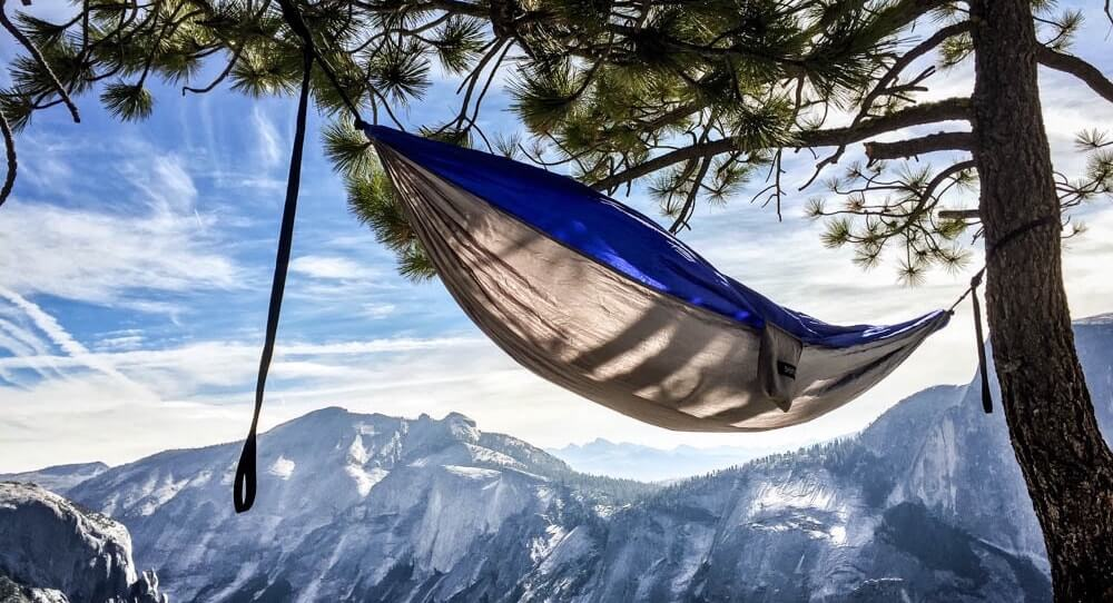 camping hammocks are way better than tents