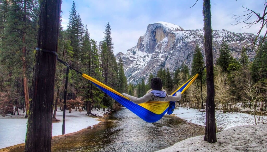 Medium image of level hammock tip  5 jess hanging out in a golden state serac camping hammock while