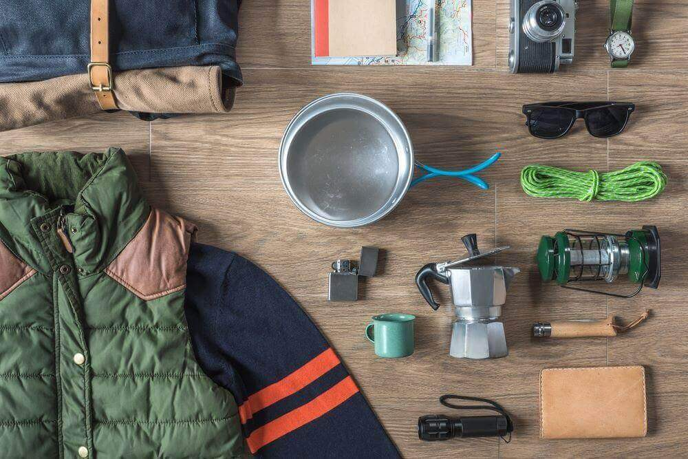 gear and equipment for camping in cold weather