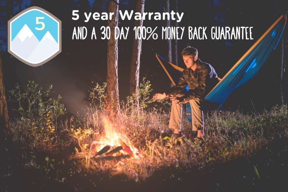 Serac sequoia xl double hammock specifications and details with warranty