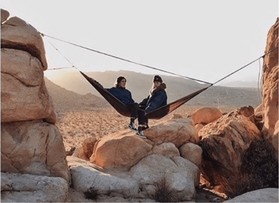 hammocking at joshua tree national park