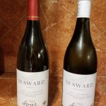 shows two bottles of South African wine from the Spier wine farm