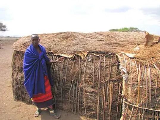 Maasai hut in Kenya