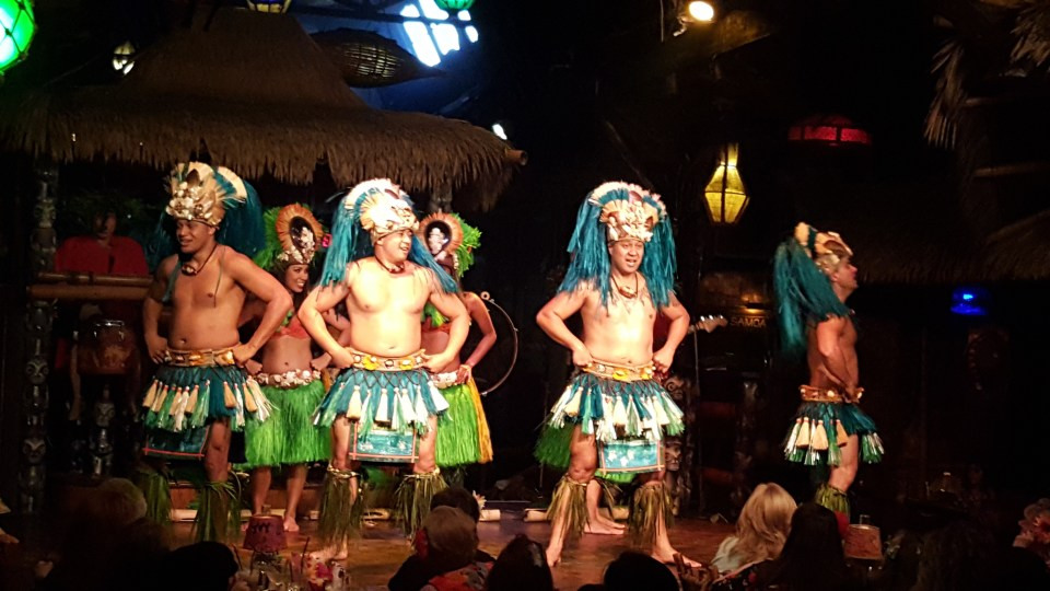 looking for something in South Florida for families, Polynesian dancers at the Mai Kai dinner show
