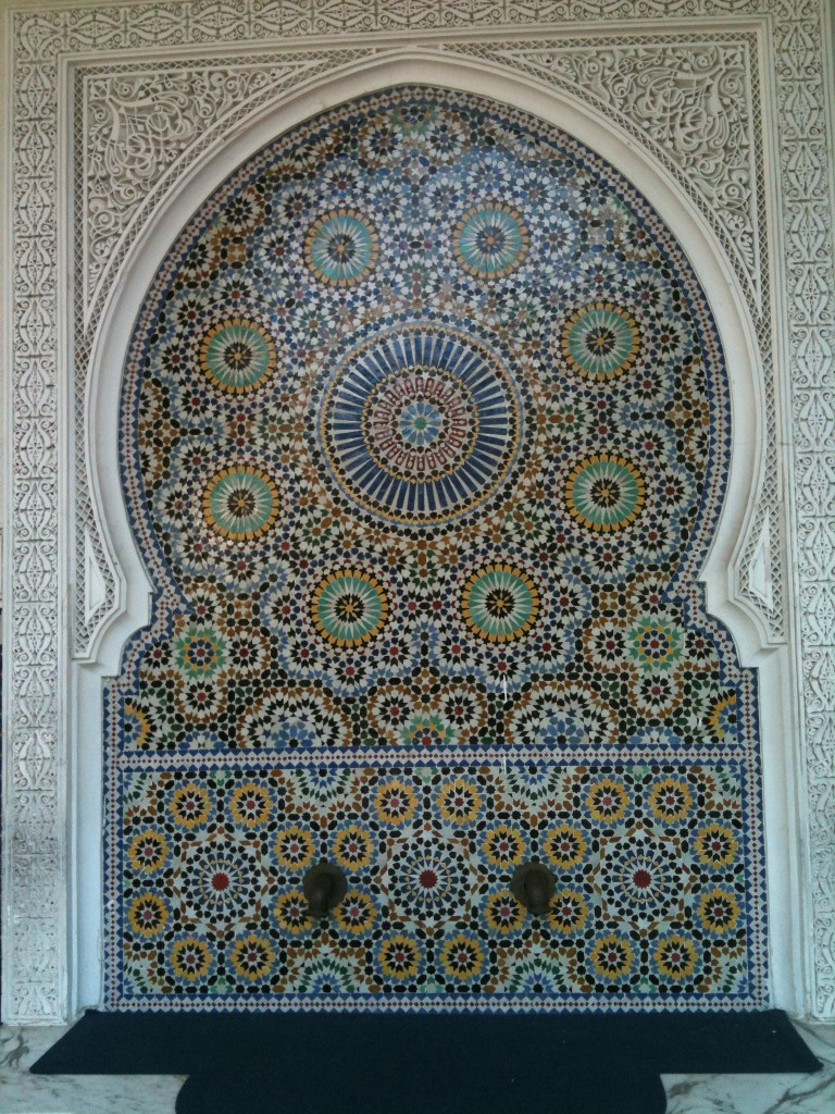 Moroccan mosaics located in Busch Gardens FL