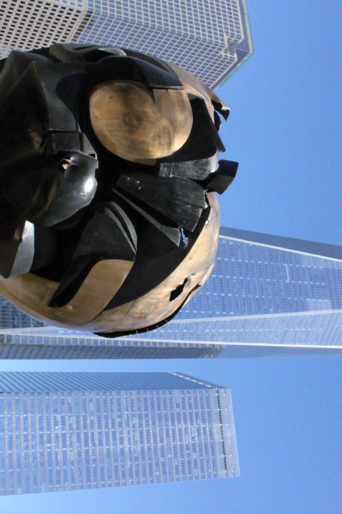 A big statue at the September 11th Memorial, something in New York City to do for free