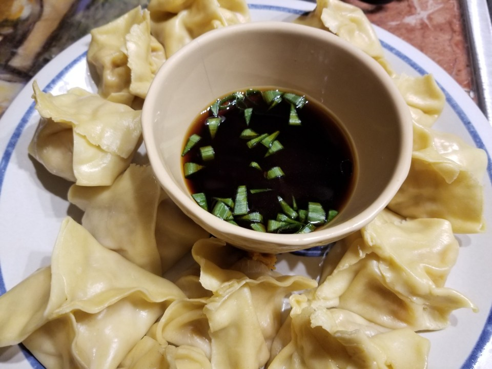 shows Thai steamed dumplings