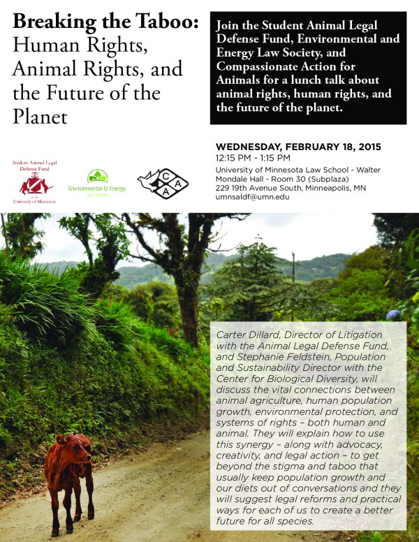 Animal Rights, Human Rights, and the Future of the Planet ...