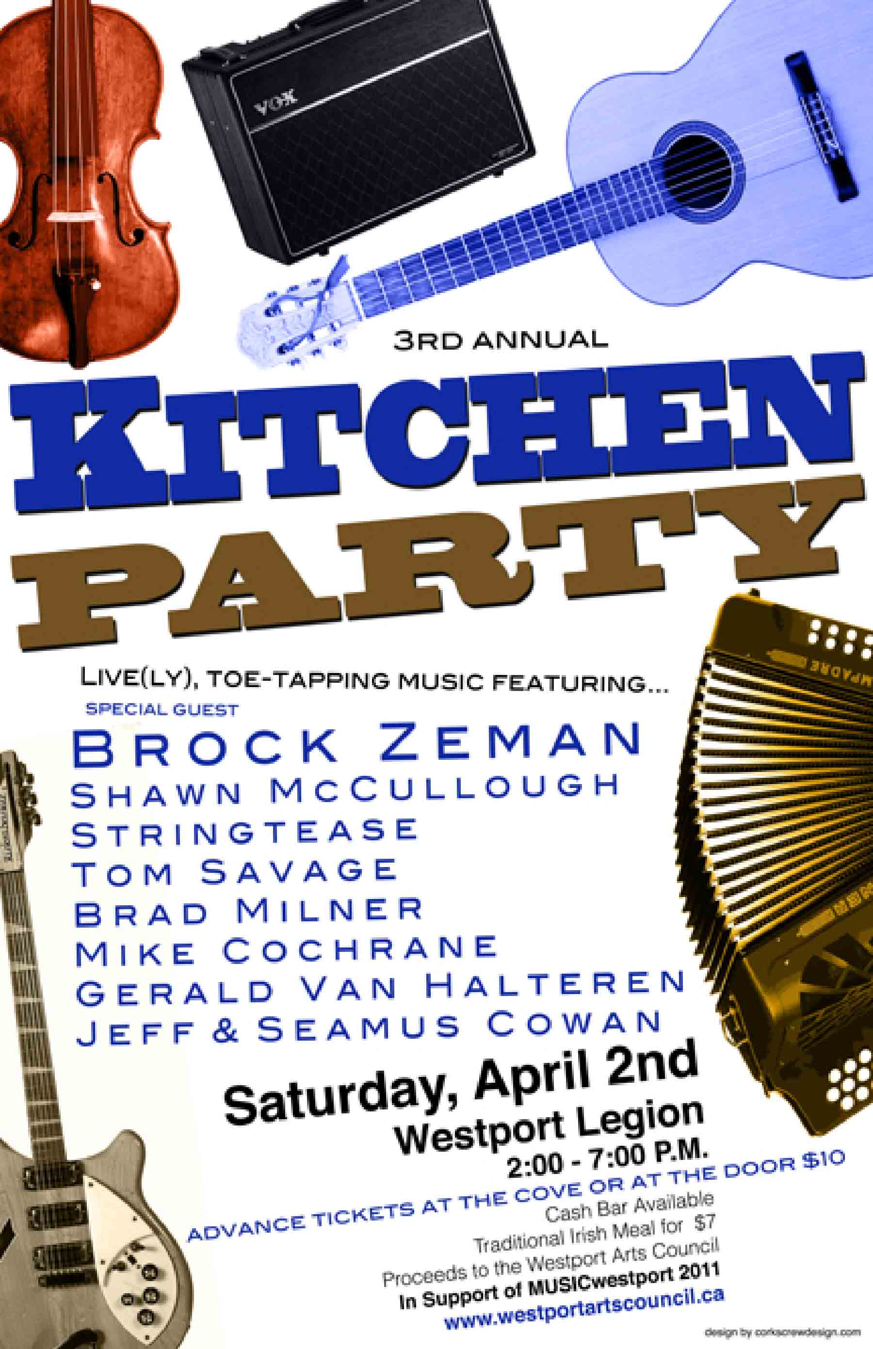 Annual Kitchen Party | Explore Westport Ontario