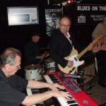 Michael Fonfara on the keys with Teddy Leonard on guitar