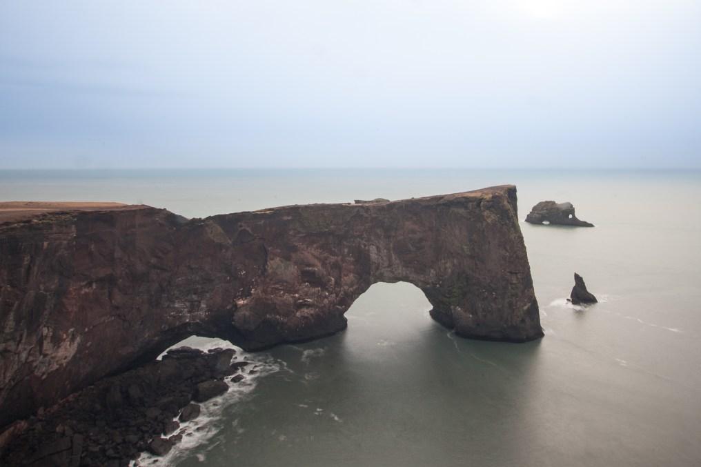 Dyrhólaey arch Iceland
