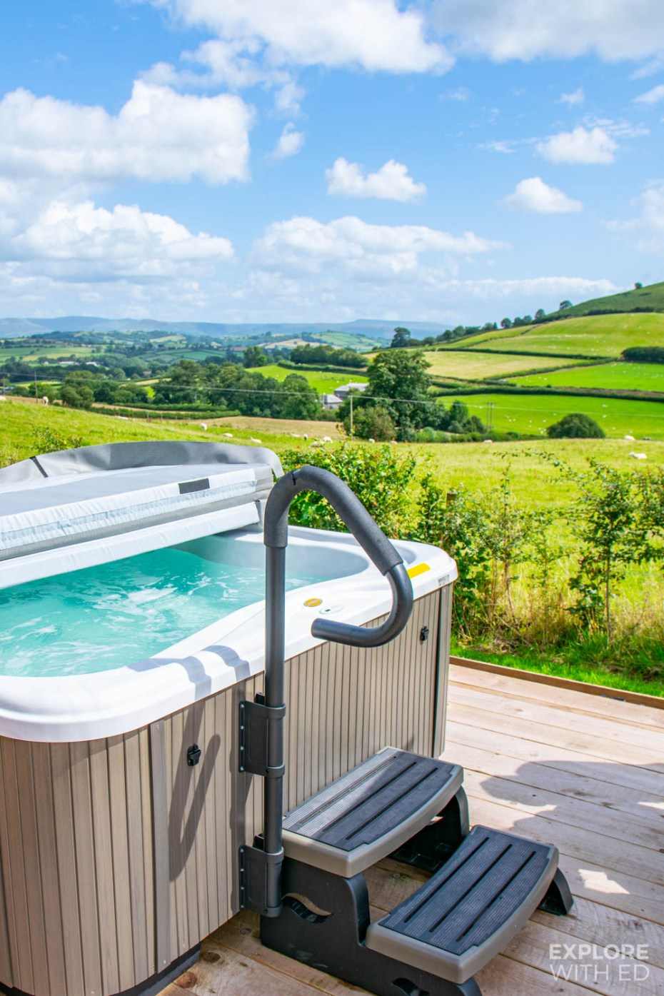Brecon Beacons Glamping Holiday in Wales