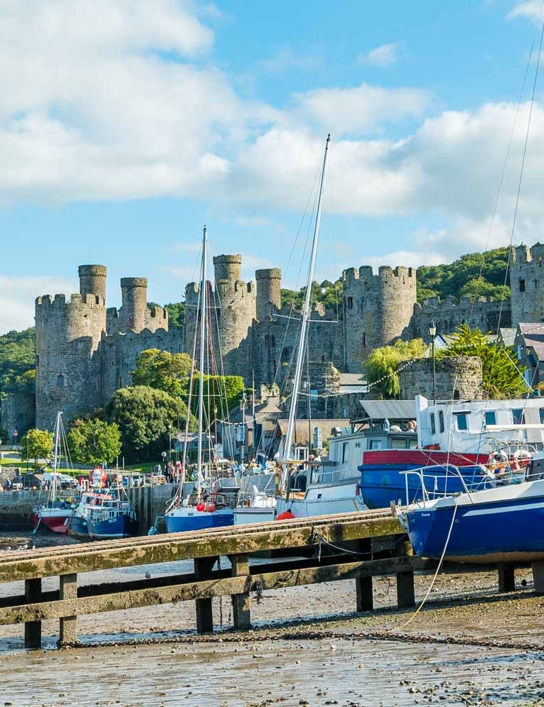 Conwy Castle and Town