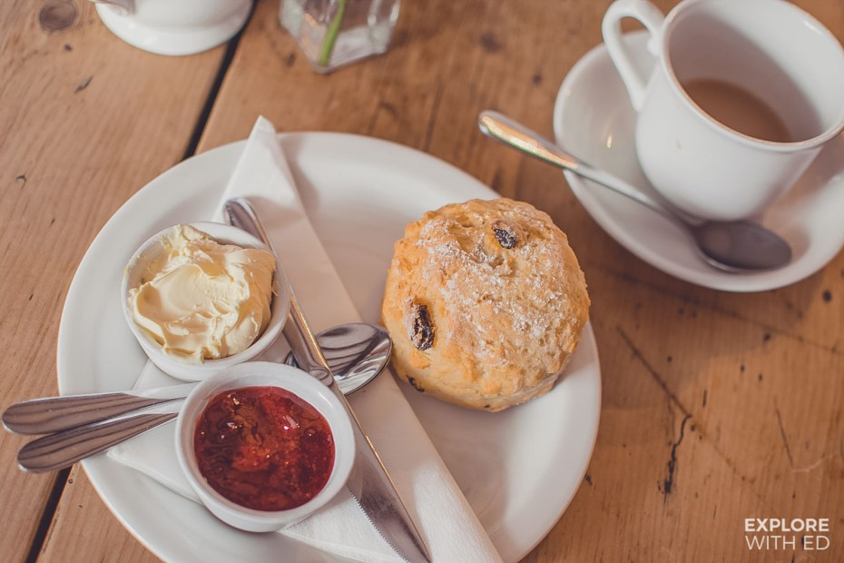 Lucy's Tea Room Cream Tea in Stow-on-the-Wold