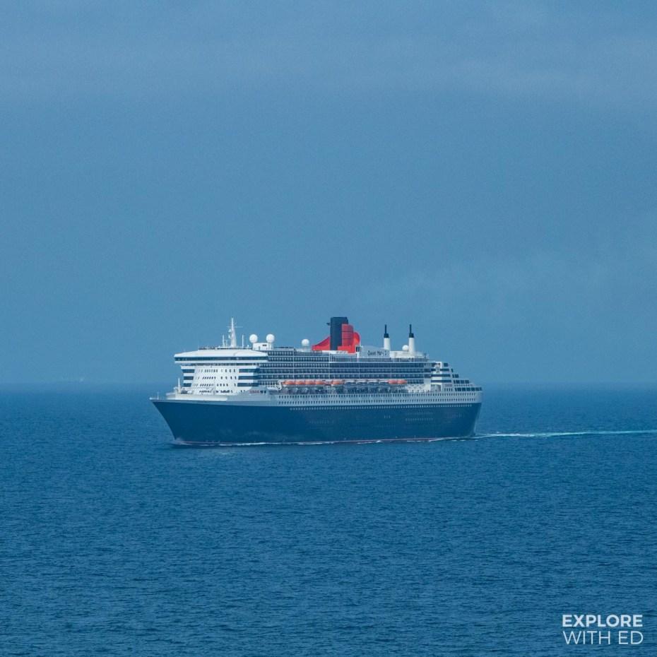 Cunard Cruises Queen Victoria at Sea