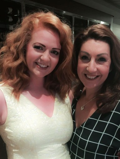 Natalie (MSC Cruises) and Jane McDonald filming onboard MSC Meraviglia