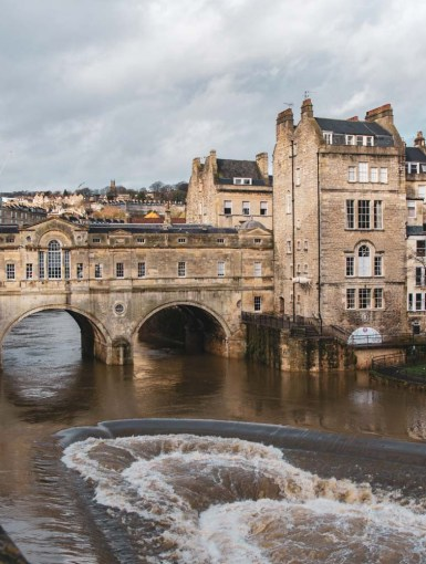 The wonderful city of Bath, England