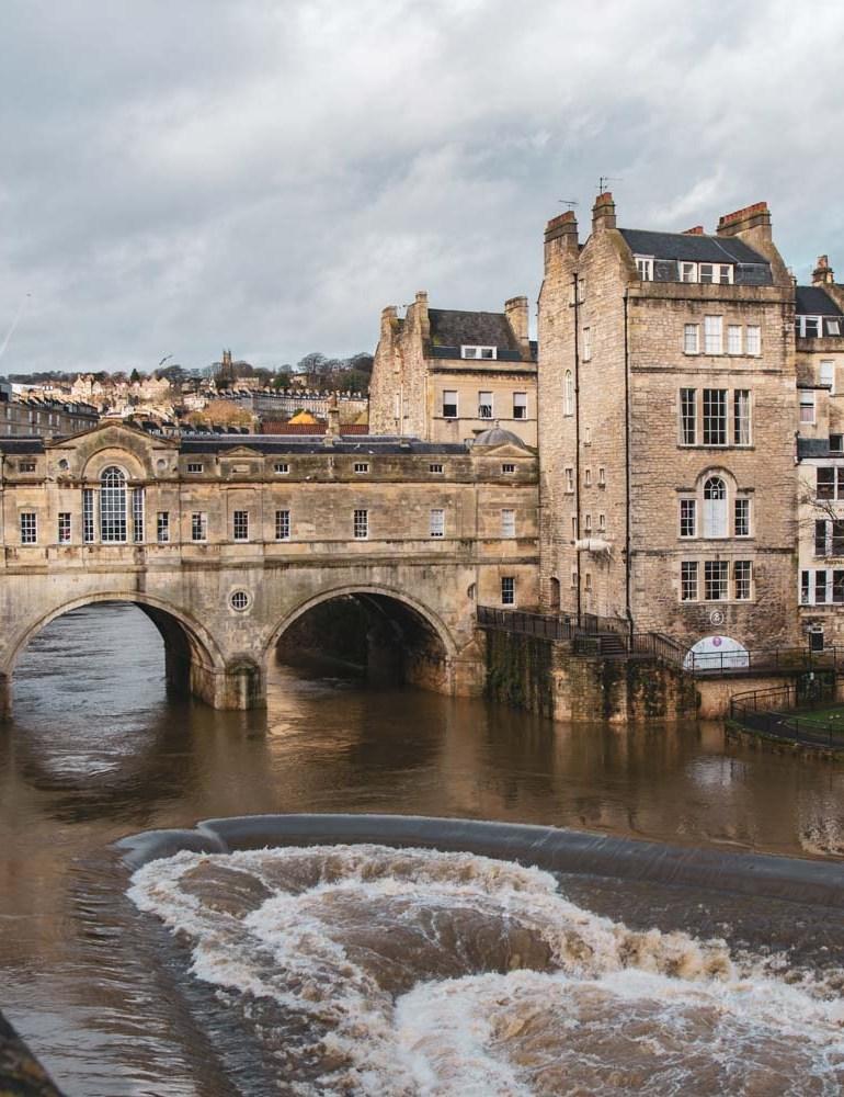 The wonderful city of Bath, England