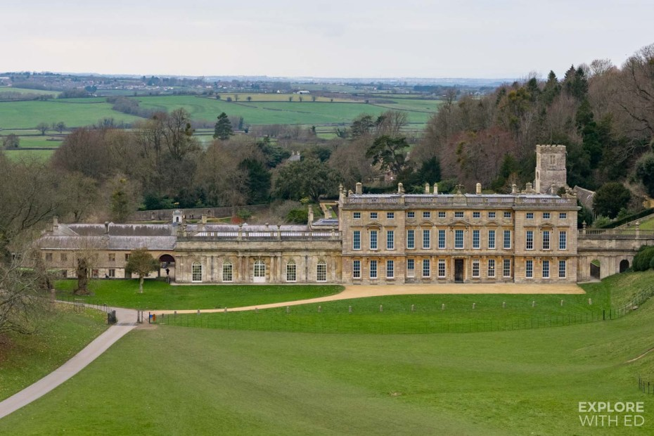Dyrham Deer Park and House near Bath, England