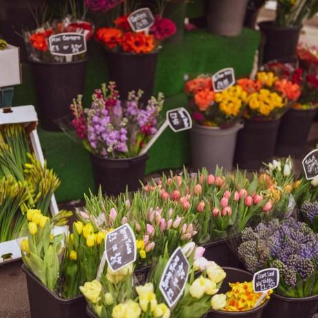 Lovely flower stall in Cheltenham