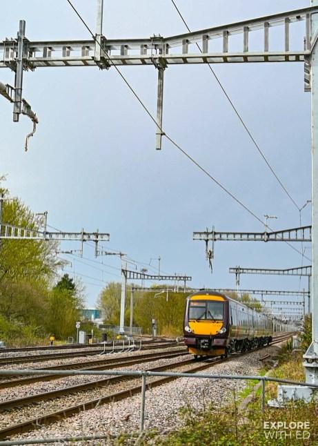 CrossCountry train to Cheltenham {AD}