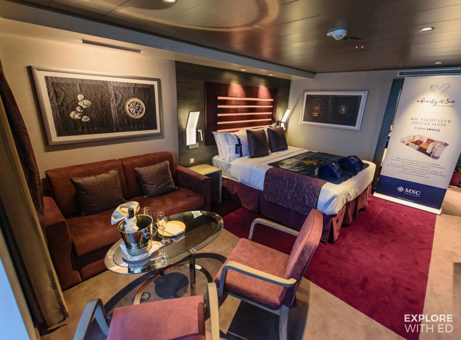 Bellissima Yacht Club Deluxe Suite