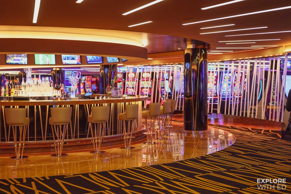 Casino on MSC Bellissima