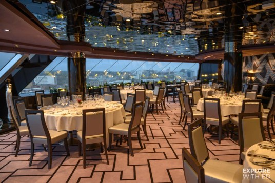 MSC Top Sail Lounge and Restaurant