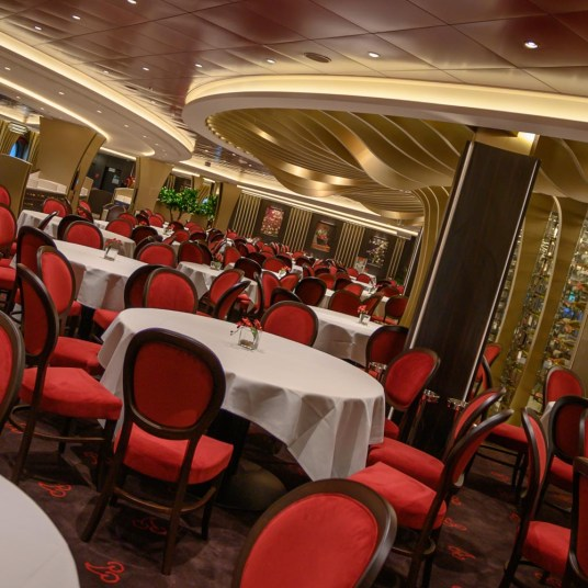 Dining room on MSC Bellissima