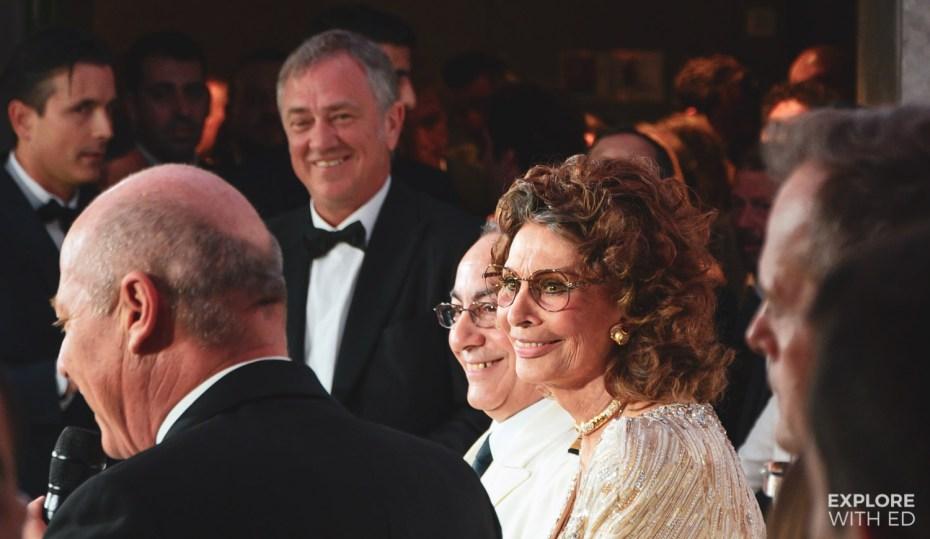 Sophia Loren, Godmother of MSC Bellissima
