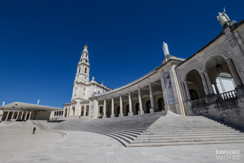 The Sanctuary of our Lady of Fatima, Portugal