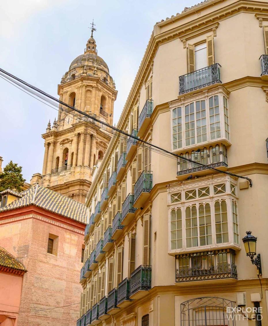 Malaga Cathedral Tower