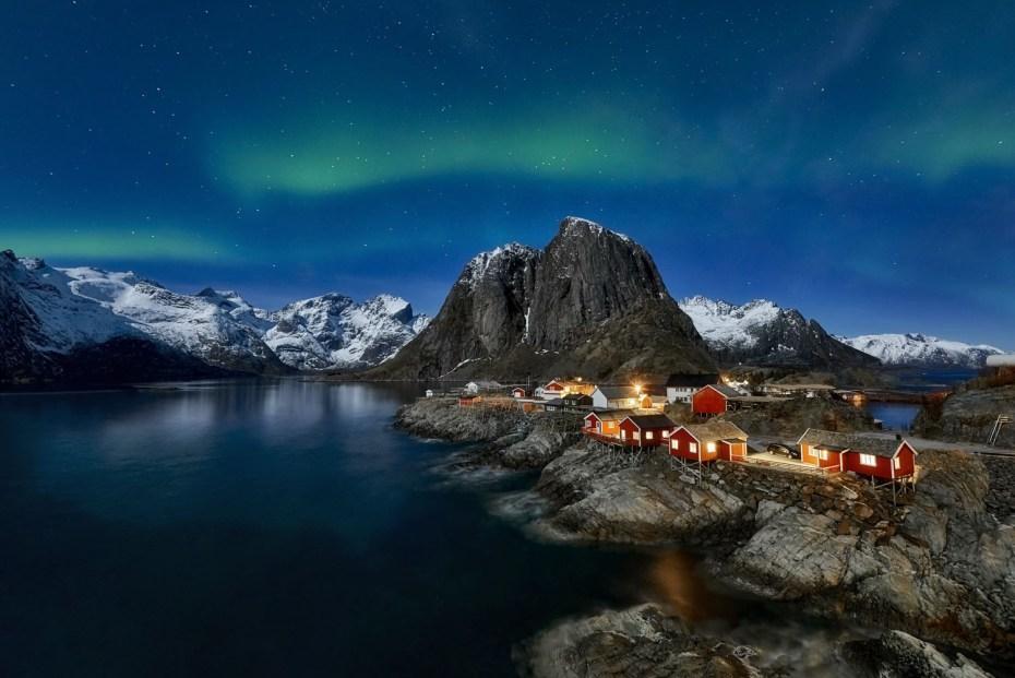 Lofoten, Norway Northern Lights Viking Cruise