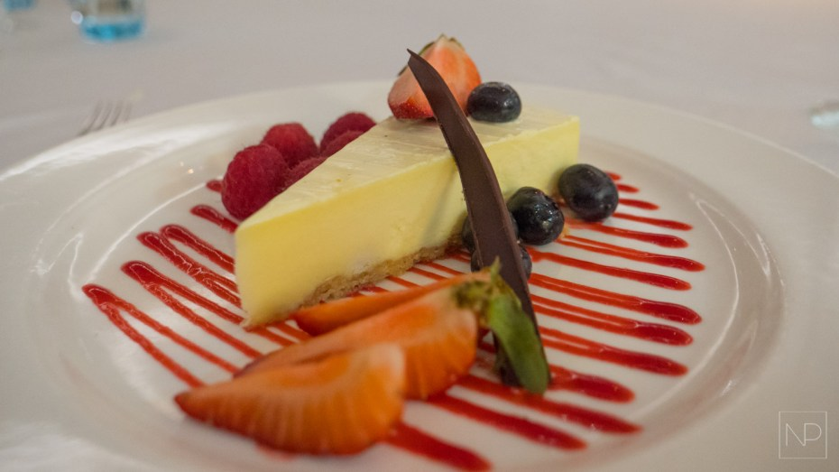 Cheesecake on Viking Cruise ship [AD]