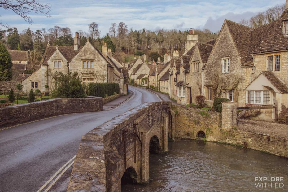 Castle Combe, one of the prettiest villages in England