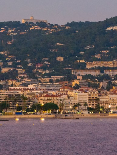 French Riviera Coastline, Cannes