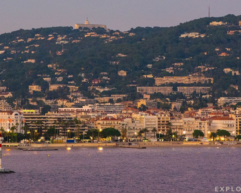 French Riviera Coastline, Cannes