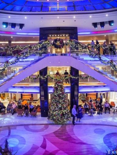 P&O Ventura Christmas Atrium