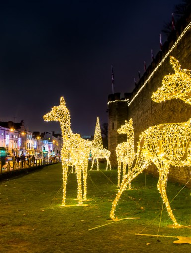 Christmas in Cardiff, Wales